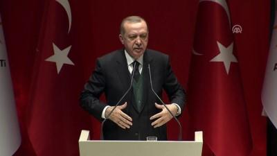 Cumhurbaşkanı Erdoğan: 'Zeytin Dalı Harekatı'nda etkisiz hale getirilen teröristlerin sayısı 3 bin 800'ü buldu'- ANKARA