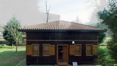 Tarihi Orhangazi ve Hemşin camilerini havadan görüntüleri izleyenleri büyüledi