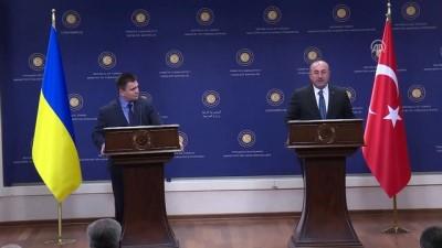 Çavuşoğlu: 'Ukrayna ile ilişkilerimiz mükemmel düzeyde' - ANKARA