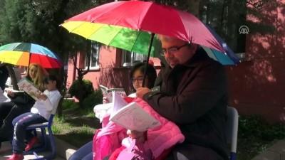 Sokakta kitap okuma etkinliği - BİLECİK