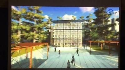Hüseyin Avni Aker Stadyum Alanı Kentsel Dönüşüm Projesi tanıtıldı
