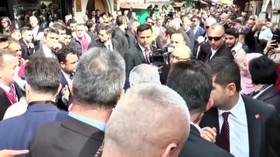 Başbakan Yıldırım'ın Başçarşı ziyareti (2) - SARAYBOSNA