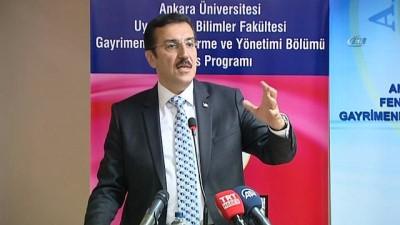 Bakan Tüfenkci, Türkiye'de Perakende Ticaret ve Gayrimenkul Pazarının Düzenlenmesi Programı'na katıldı