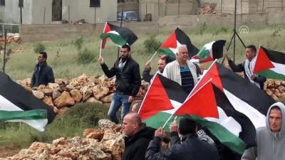 Batı Şeria'daki Filistin Toprak Günü gösterilerine müdahale - NABLUS