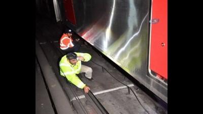 Ankara metrosunda kaza