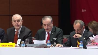 Galatasaray Kulübünün mali kongresi başladı - İSTANBUL