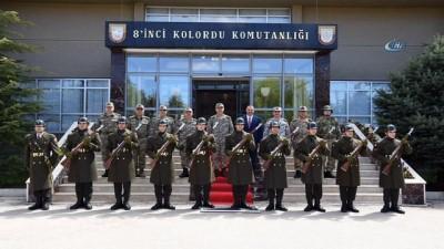 Genelkurmay Başkanı Orgeneral Akar Elazığ ve Tunceli'deki birlikleri denetledi