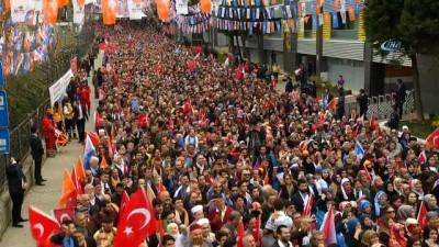 Cumhurbaşkanı Erdoğan, 'Geceleri beddua seansları yapıyormuş. Biz milletimizin dualarıyla bugünlere geldik'