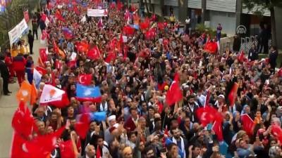 Cumhurbaşkanı Erdoğan: 'Bir olacağız, iri olacağız, diri olacağız, kardeş olacağız, hep birlikte Türkiye olacağız.' - İSTANBUL