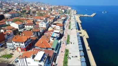 Mudanya sahilleri Büyükşehir ile güzelleşti