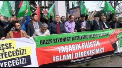 ÖZGÜRDER'den İsrail'e protesto