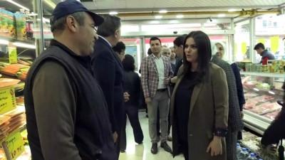Bakan Sarıeroğlu, Polatlı'da esnaf ziyaretlerinde bulundu - ANKARA