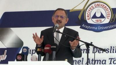 Özhaseki: 'Dünyanın en büyük 10 projesinden 6'sı Türkiye'de yapılıyor' - KAYSERİ