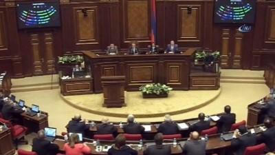 - Protestolara rağmen Ermenistan'ın başbakanı Sarkisyan oldu