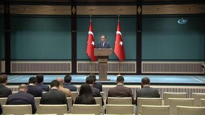 Başbakan Yardımcısı ve Hükümet Sözcüsü Bekir Bozdağ:  'Cumhurbaşkanı Erdoğan ile Bahçeli görüşmesini bekleyin'