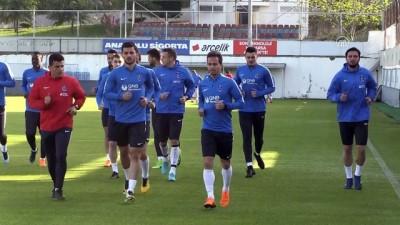 Trabzonspor, Demir Grup Sivasspor maçı hazırlıklarına başladı - TRABZON