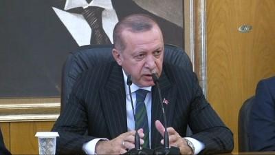 Cumhurbaşkanı Erdoğan: 'Gündemimizde yok. Seçim bitsin bunlar tekrar masaya yatırılır'