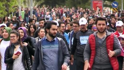 Erzurum'da 5 bin kişiyle 'Bahar Koşusu'