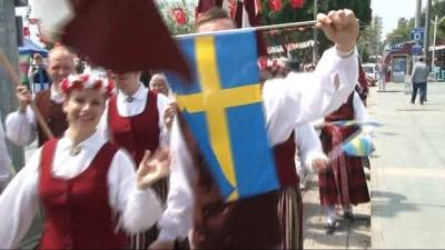 Antalya'da Letonya Cumhuriyeti'nin 100. kuruluş yıl dönümü kutlandı