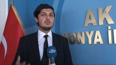 Konya'da 18 yaşındaki 2 genç milletvekilliği aday adaylığı başvurusu yaptı