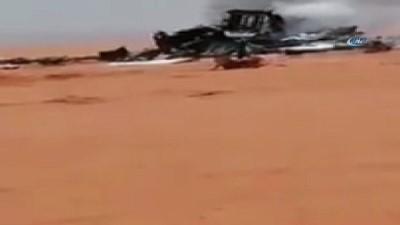 - Libya'da askeri uçak düştü: 3 ölü