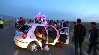 Trafik kazası: 2 ölü 6 yaralı - AKSARAY