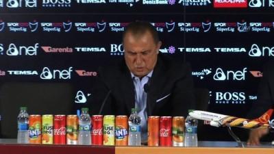 """Fatih Terim: """"Maçı sonuna kadar hak ettik"""" -1-"""