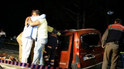 İzmir'de katliam gibi kaza... Bir aile kazada yok oldu: 5 ölü, 1 ağır yaralı