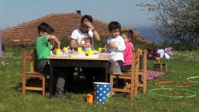 Bedia öğretmen köy çocukları için yollarda - SİNOP