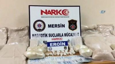 Mersin'de 24 kilo eroin ele geçirildi