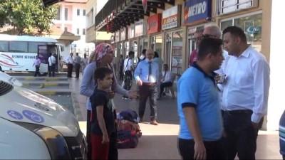 Engelli kadın ve oğluna şoförden hakaret iddiası