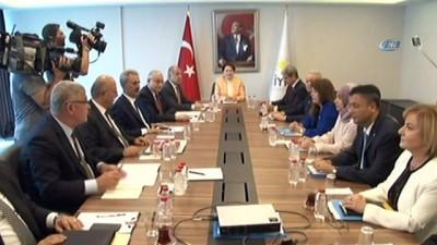 İYİ Parti Genel Sekreteri ve Parti Sözcüsü Aytun Çıray başkanlık divan toplantısının ardından açıklama yaptı