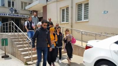 Bursa'da narkotik operasyonu: 9 tutuklama