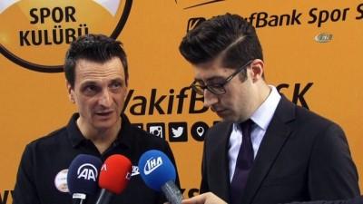 """Giovanni Guidetti: """"Kazanmak motivasyonumuzu artırıyor"""""""