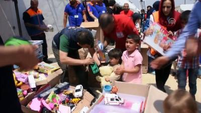 AFAD ve Kızılay'dan Doğu Guta ve İdliblilere yardım eli - İDLİB