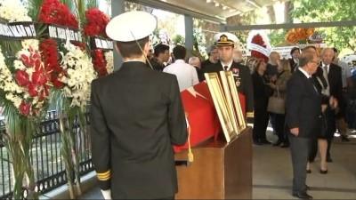 Emekli Oramiral Özden Örnek son yolculuğuna uğurlanıyor