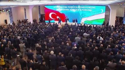 Cumhurbaşkanı Erdoğan: 'Türk yatırımcıları, Özbekistan'ın kalkınmasında etkin rol oynamışlardır' - TAŞKENT