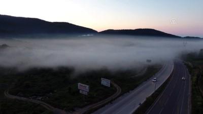 Batı Karadeniz'de sis altında yolculuk - DÜZCE