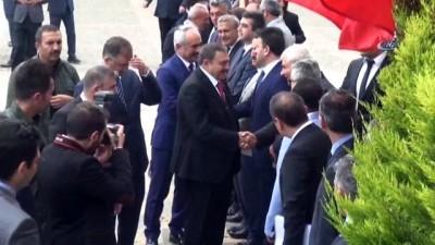 Orman ve Su İşleri Bakanı Veysel Eroğlu Sinop'ta