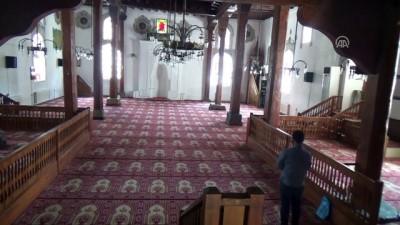 Tahta minareli 600 yıllık cami zamana meydan okuyor - AMASYA