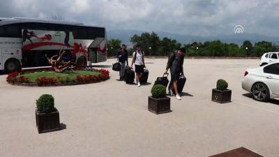 Ümit Milli Erkek Basketbol Takımı Bolu'da kampa girdi - BOLU