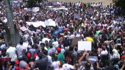 Ürdün'de sendikalar greve gitti (2) - AMMAN
