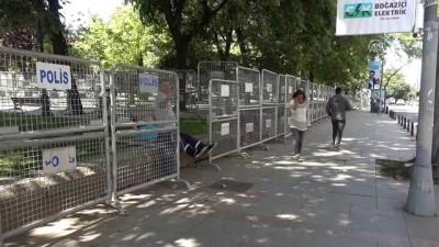 Taksim'de güvenlik önlemleri - İSTANBUL