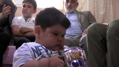 Yağız bebek 6 ayda 11 kilo verdi - SAMSUN