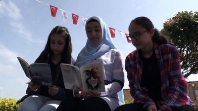 14 yaşında iki kitap yazdı - YALOVA