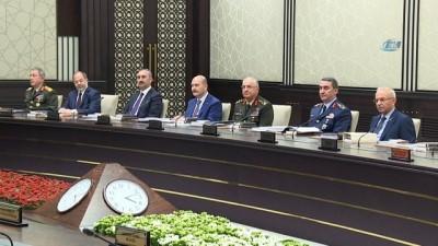 Parlamenter sistemin olağan son MGK'sı Beştepe'de toplandı