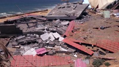 İsrail'in Gazze'ye yönelik hava saldırıları - GAZZE