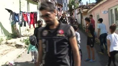 İstanbul'da narkotik uygulamasında şoke eden görüntü