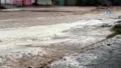 Nevşehir'de Mazı köyünü sel vurdu