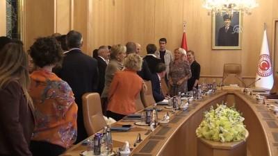 TBMM Başkanı Kahraman, AKPM Seçim Öncesi Gözlem Heyetini kabul etti - TBMM